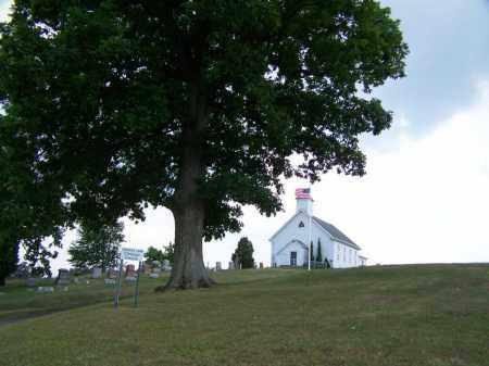 CHESTNUT LEVEL CEMETERY, ENTRANCE - Belmont County, Ohio   ENTRANCE CHESTNUT LEVEL CEMETERY - Ohio Gravestone Photos