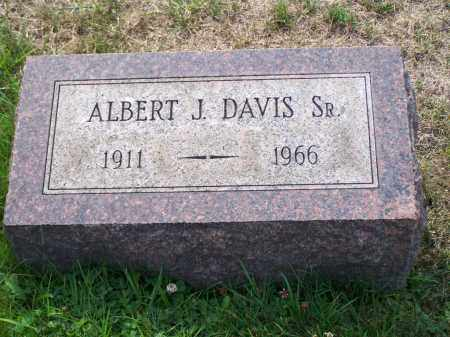 DAVIS, ALBERT J - Belmont County, Ohio | ALBERT J DAVIS - Ohio Gravestone Photos