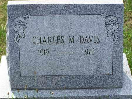 DAVIS, CHARLES M - Belmont County, Ohio | CHARLES M DAVIS - Ohio Gravestone Photos