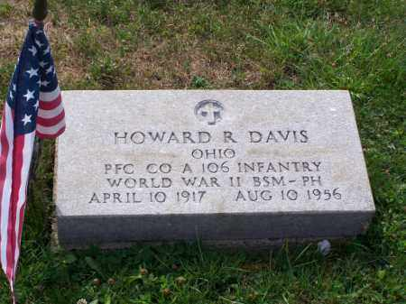 DAVIS, HOWARD R - Belmont County, Ohio | HOWARD R DAVIS - Ohio Gravestone Photos