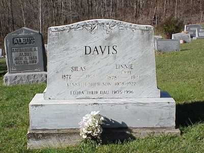 DAVIS, LINNIE - Belmont County, Ohio | LINNIE DAVIS - Ohio Gravestone Photos