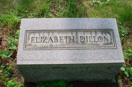 DILLON, ELIZABETH - Belmont County, Ohio | ELIZABETH DILLON - Ohio Gravestone Photos