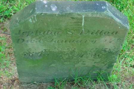 DILLON, JEPHIHA S - Belmont County, Ohio | JEPHIHA S DILLON - Ohio Gravestone Photos