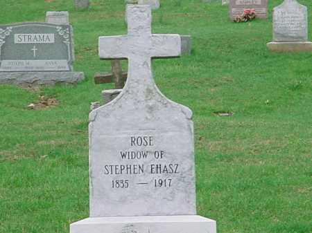 EHASZ, ROSE - Belmont County, Ohio   ROSE EHASZ - Ohio Gravestone Photos