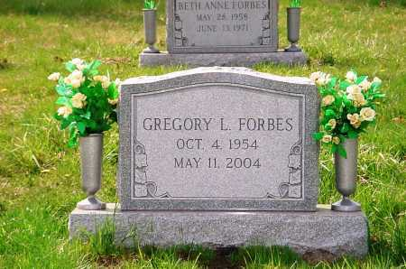 FORBES, GREGORY L. - Belmont County, Ohio | GREGORY L. FORBES - Ohio Gravestone Photos
