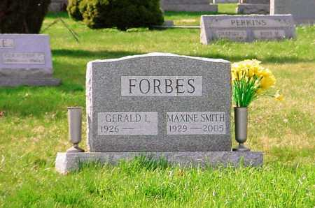 SMITH FORBES, MAXINE - Belmont County, Ohio | MAXINE SMITH FORBES - Ohio Gravestone Photos