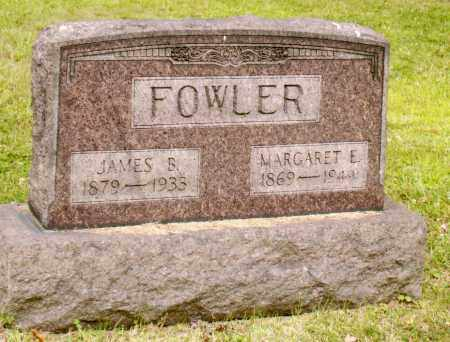 FOWLER, MARGARET E - Belmont County, Ohio | MARGARET E FOWLER - Ohio Gravestone Photos