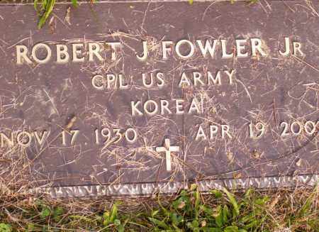 FOWLER, ROBERT J - Belmont County, Ohio | ROBERT J FOWLER - Ohio Gravestone Photos