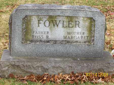 FOWLER, MARGARET - Belmont County, Ohio | MARGARET FOWLER - Ohio Gravestone Photos