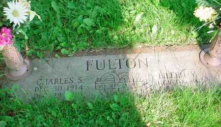 FULTON, EILEEN V - Belmont County, Ohio | EILEEN V FULTON - Ohio Gravestone Photos