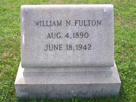 FULTON, WILLIAM N - Belmont County, Ohio | WILLIAM N FULTON - Ohio Gravestone Photos