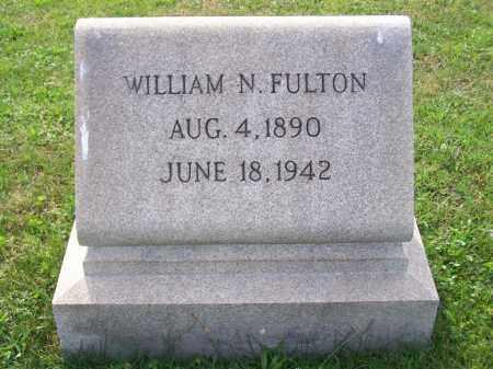 FULTON, WILLIAM N - Belmont County, Ohio | WILLIAM N FULTON - Ohio Gravestone Photos
