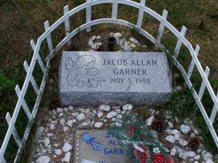 GARNER, JACOB ALLAN - Belmont County, Ohio | JACOB ALLAN GARNER - Ohio Gravestone Photos