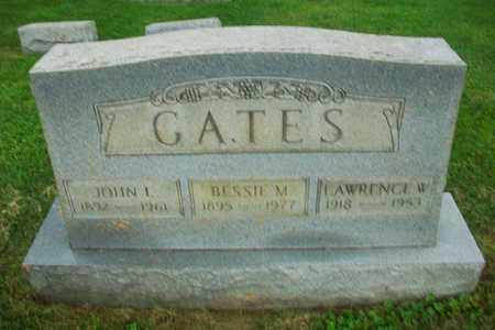 GATES, JOHN L - Belmont County, Ohio | JOHN L GATES - Ohio Gravestone Photos
