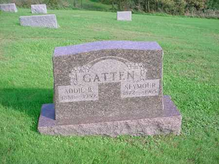 GATTEN, SEYMOUR - Belmont County, Ohio | SEYMOUR GATTEN - Ohio Gravestone Photos
