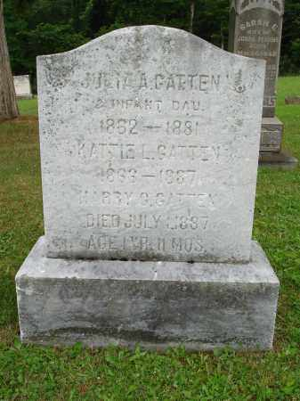 GATTEN, KATTIE - Belmont County, Ohio | KATTIE GATTEN - Ohio Gravestone Photos