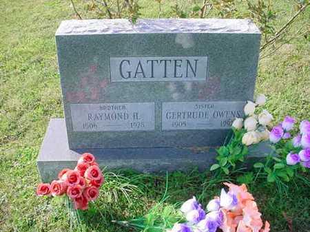 OWENS GATTEN, GERTRUDE - Belmont County, Ohio | GERTRUDE OWENS GATTEN - Ohio Gravestone Photos