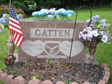 GATTEN, INEZ E. - Belmont County, Ohio | INEZ E. GATTEN - Ohio Gravestone Photos