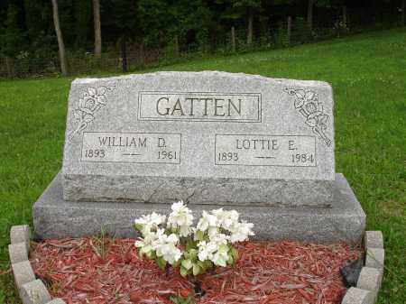 GATTEN, LOTTIE E. - Belmont County, Ohio | LOTTIE E. GATTEN - Ohio Gravestone Photos
