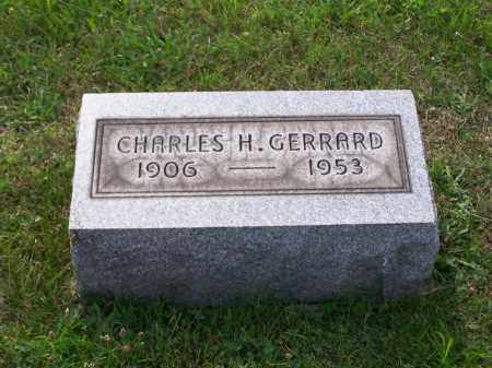 GERRARD, CHARLES H - Belmont County, Ohio | CHARLES H GERRARD - Ohio Gravestone Photos