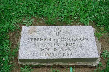 GOODSON, STEPHEN C - Belmont County, Ohio | STEPHEN C GOODSON - Ohio Gravestone Photos