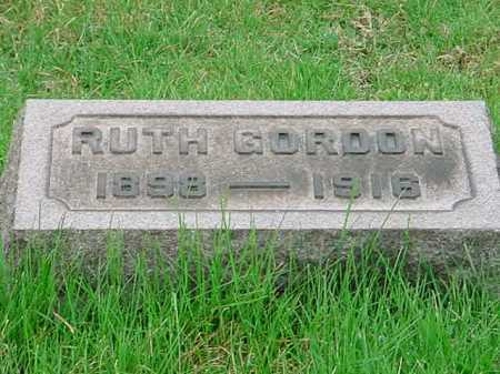 GORDON, RUTH - Belmont County, Ohio | RUTH GORDON - Ohio Gravestone Photos