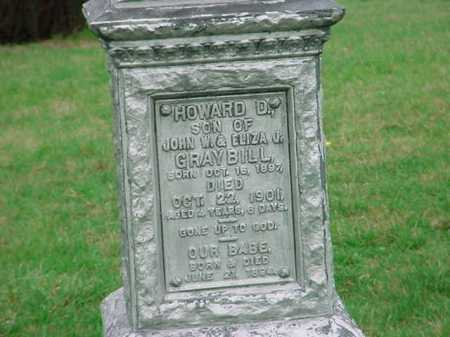 GRAYBILL, HOWARD D. - Belmont County, Ohio | HOWARD D. GRAYBILL - Ohio Gravestone Photos