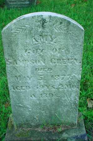 GREEN, AMY - Belmont County, Ohio | AMY GREEN - Ohio Gravestone Photos