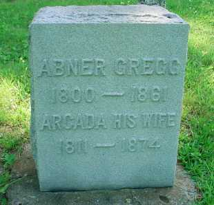 GREGG, ABNER - Belmont County, Ohio | ABNER GREGG - Ohio Gravestone Photos