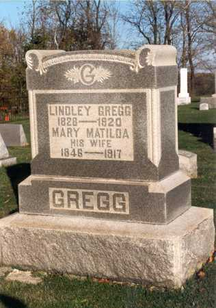 LINGO GREGG, MARY MATILDA - Belmont County, Ohio | MARY MATILDA LINGO GREGG - Ohio Gravestone Photos