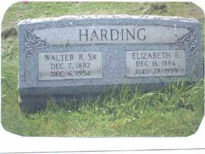 HARDING, WALTER ROSS SR. - Belmont County, Ohio | WALTER ROSS SR. HARDING - Ohio Gravestone Photos