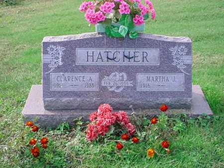HATCHER, CLARENCE A. - Belmont County, Ohio | CLARENCE A. HATCHER - Ohio Gravestone Photos