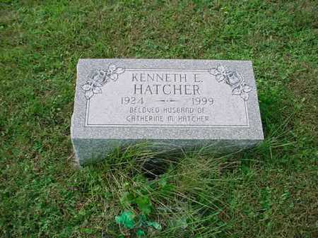 HATCHER, KENNETH E. - Belmont County, Ohio | KENNETH E. HATCHER - Ohio Gravestone Photos
