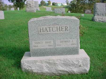 HATCHER, THOMAS J. - Belmont County, Ohio | THOMAS J. HATCHER - Ohio Gravestone Photos
