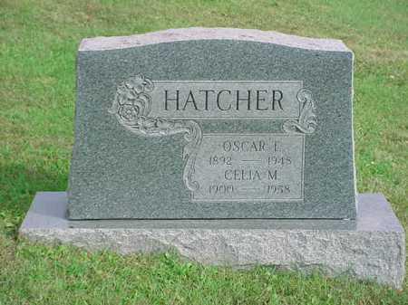 HATCHER, OSCAR T. - Belmont County, Ohio   OSCAR T. HATCHER - Ohio Gravestone Photos