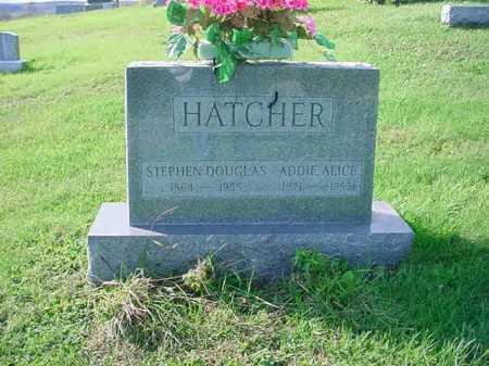 HATCHER, ADDIE ALICE - Belmont County, Ohio | ADDIE ALICE HATCHER - Ohio Gravestone Photos