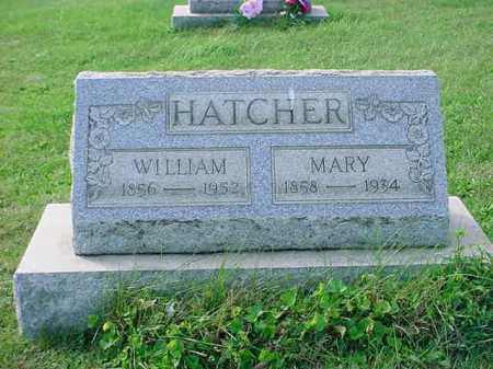 WHITE HATCHER, MARY - Belmont County, Ohio | MARY WHITE HATCHER - Ohio Gravestone Photos