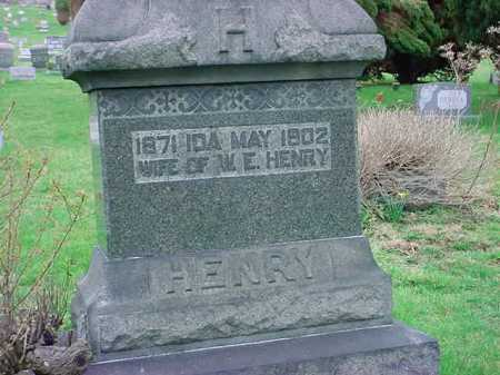 HENRY, IDA MAY - Belmont County, Ohio | IDA MAY HENRY - Ohio Gravestone Photos