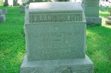 HOLLINGSWORTH, WILLIAM - Belmont County, Ohio | WILLIAM HOLLINGSWORTH - Ohio Gravestone Photos