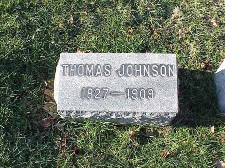 JOHNSON, THOMAS - Belmont County, Ohio | THOMAS JOHNSON - Ohio Gravestone Photos