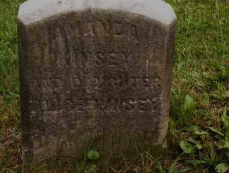 KINSEY, ALICE - Belmont County, Ohio | ALICE KINSEY - Ohio Gravestone Photos