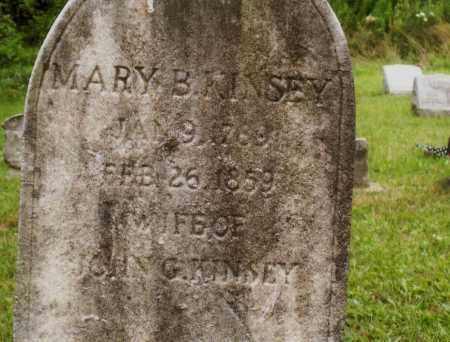 BALDERSTON KINSEY, MARY - Belmont County, Ohio | MARY BALDERSTON KINSEY - Ohio Gravestone Photos