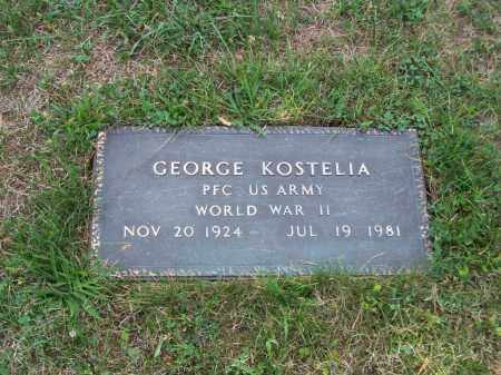 KOSTELIA, GEORGE - Belmont County, Ohio | GEORGE KOSTELIA - Ohio Gravestone Photos