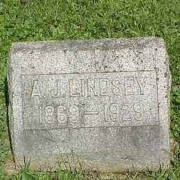 LINDSEY, A. - Belmont County, Ohio | A. LINDSEY - Ohio Gravestone Photos