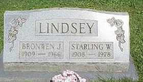 LINDSEY, STARLING W. - Belmont County, Ohio | STARLING W. LINDSEY - Ohio Gravestone Photos