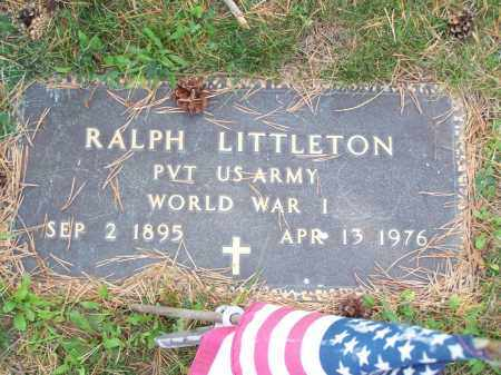 LITTLETON, RALPH - Belmont County, Ohio | RALPH LITTLETON - Ohio Gravestone Photos