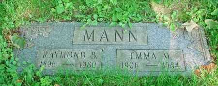 MANN, EMMA M. - Belmont County, Ohio | EMMA M. MANN - Ohio Gravestone Photos