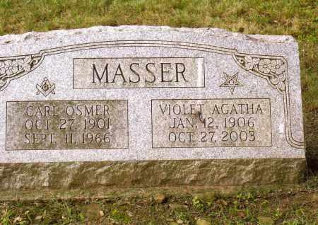 MASSER, CARL OSMER - Belmont County, Ohio | CARL OSMER MASSER - Ohio Gravestone Photos