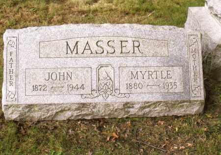 OCHSENBEIN MASSER, VIOLA MYRTLE - Belmont County, Ohio | VIOLA MYRTLE OCHSENBEIN MASSER - Ohio Gravestone Photos