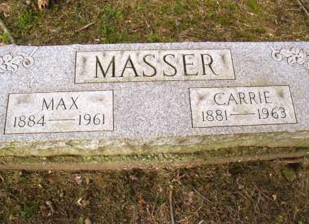 MASSER, CARRIE - Belmont County, Ohio | CARRIE MASSER - Ohio Gravestone Photos